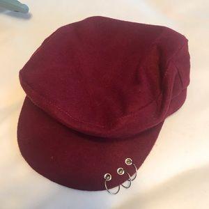 👄Pierced Cabby Hat